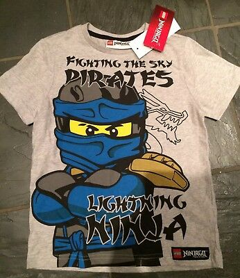 BNWT Lego Ninjago 6-7 Years Short Sleeved T-Shirt