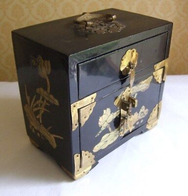 Vintage Chinese miniature chest of drawers