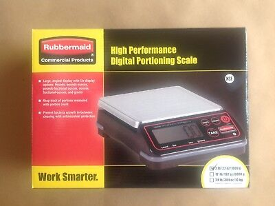 Rubbermaid High Performance Digital Portion Control Scale, 2 Lb New