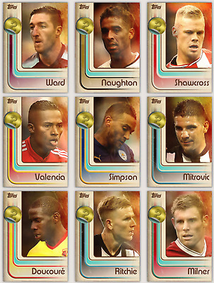 Topps Kick Premier League 2017 BASE GOLD 2x VARIANTS 50 Card lot Digital Cards