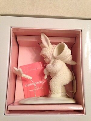 """NIB Dept 56 SNOWBUNNIES #2622-0 """"You Better Watch Out Or I'll Catch You"""" 1996"""