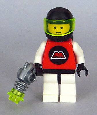 LEGO Space - M-Tron Astronaut Minifigure, Airtanks, Ray Gun