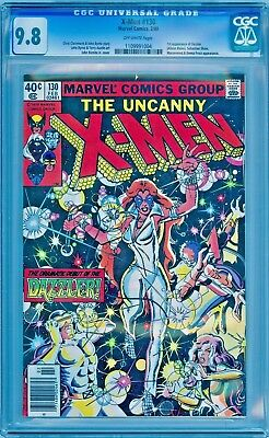 X-MEN 130 CGC 9.8  NM/MT **1ST FIRST DAZZLER**  (100% of proceeds go to Charity)