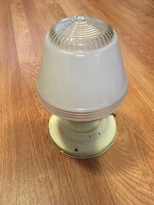 Vintage Antique 1930's Art Deco Ceiling Milk Glass Light Fixture
