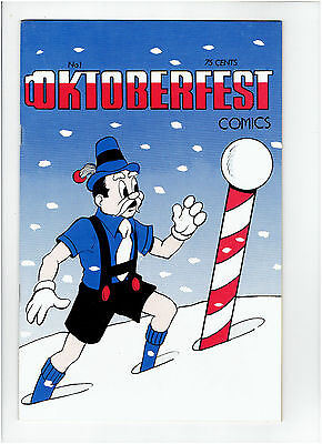 Octoberfest Comics #1 1976 Rare Early Dave Sim Art And Stories Pre-Dates Cerebus