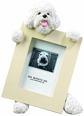 Bichon Frise Dog Picture Photo Frame