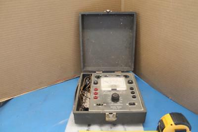 Vintage Accurate Instrument Co. Utility Tester Model 161 Tube Tester Multi-Meter