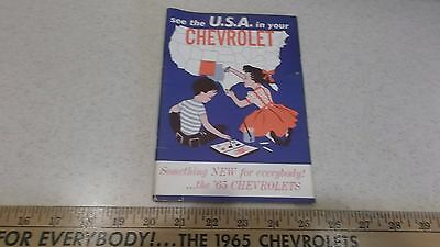 See the USA in Your Chevrolet 1965 Coloring Book 65 Chevy 48 Pages No Reserve NR