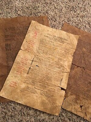 Lot Of 3 1920's Hercules Powder Blasting Dynamite Instructions
