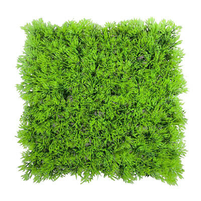 Artificial Fake Water Aquatic Green Grass Plant Lawn Aquarium Landscape Y2T0