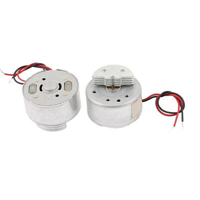 DC 1.5-3V 2700RPM CD DVD Player Torque Mini Vibration Motor 2 Pcs X1W4
