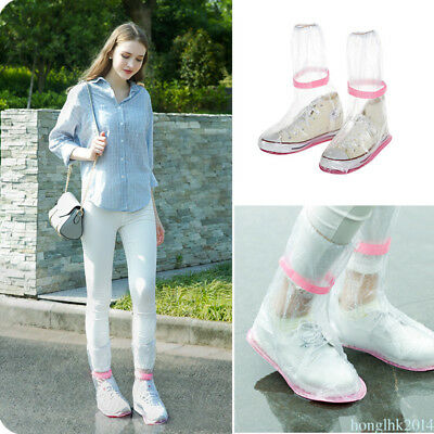 Anti skidding Waterproof Overshoes Rain Boots Shoes Cover Raincoats For Sneakers