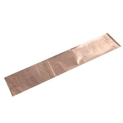Copper Foil Tape Shielding Sheet 200 x 1000mm Double-sided Conductive Roll F2M2