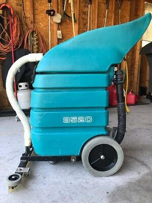 Tennant 3520 Wet Dry Vacuum Carpet Cleaning Flood Commercial Floor Cleaning