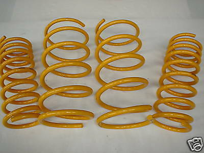 Lowered Front & Rear KING Springs to suit 6cyl Commodore VL Sedan Models