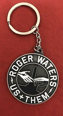 Official ROGER WATERS US + THEM 2017 TOUR KEYCHAIN