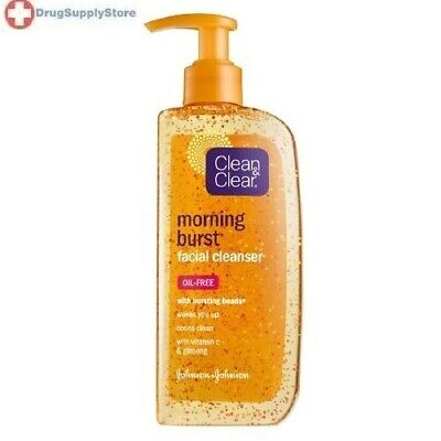 Clean and Clear morning burst facial cleanser - 8 oz