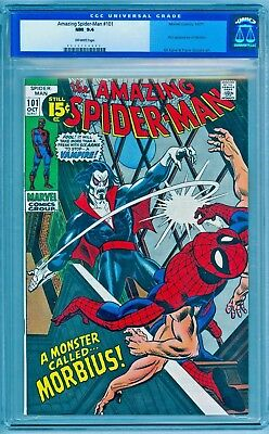 Amazing Spider-Man #101 CGC 9.4 NM   **1st FIRST APPEARANCE MORBIUS**  FEAR 20