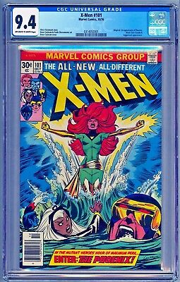 X-MEN 101 CGC 9.4 NM **1ST FIRST PHOENIX** MOVIE *100% of proceeds for Charity*