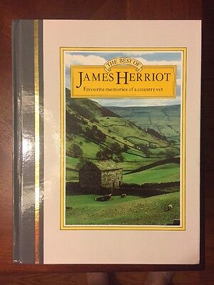 The Best of James Herriot: Memories of a Country Vet 1st Ed. 1st Print HC 1982