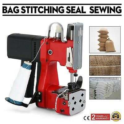 110V Industrial Portable Electric Bag Sewing Machine Sealing Machines Closer