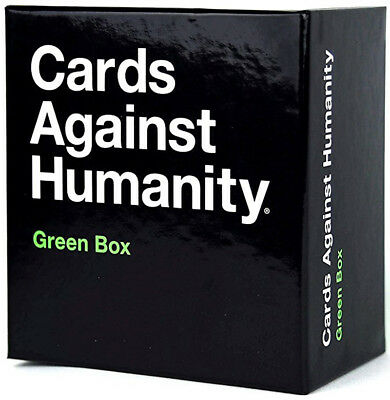 Cards Against Humanity Green Box  - BRAND NEW