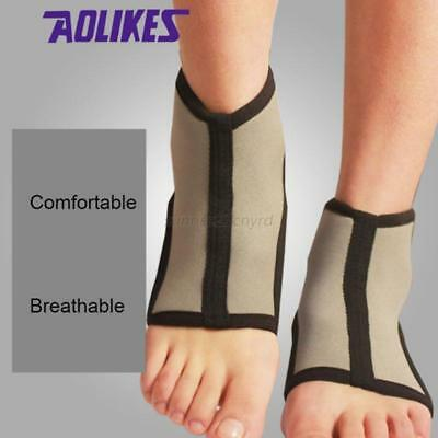 1PC Foot Protection Brace Guard Gear Sports Ankle Support Breathable Gym Braces