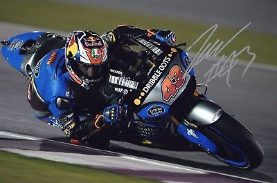 Jack Miller  Hand Signed 8 X 12  Inch Photo Coa No Reserve Not Rossi