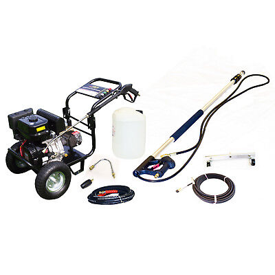 £11/WEEK on LEASE KM3700P Petrol Pressure Cleaner Pack Drain Gutter Cleaning