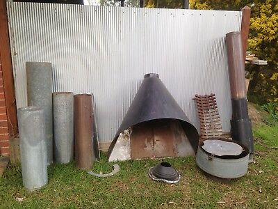 Fire Place Bulk Lot Flu Canopy Fire Grate Etc.. Pick Up Hurstbridge