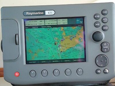 Raymarine C70 With Cable Power