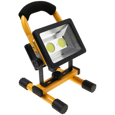 30W LED Work Light Flood Light Rechargeable Cordless Lamp IP65 Waterproof CA