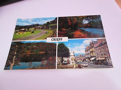 Postcard of Crieff (Multiviw) Unposted