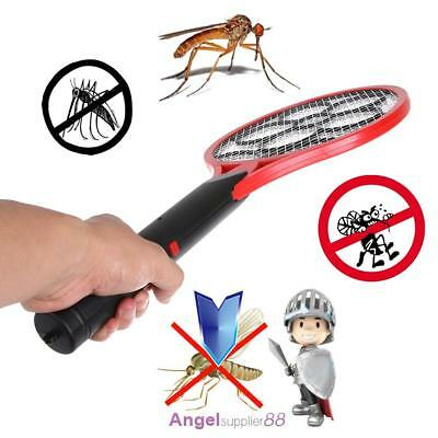 Electric Tennis Racket Mosquito Fly Swatter Bug Zapper Insect Kill Wasp Swat