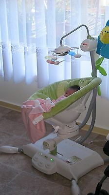 Fisher Price I-glide cradle and swing
