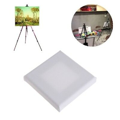 "4""× 4"" Blank Arts Sketching Oil Painting Canvas Panel Solid Wood Frame Panel"