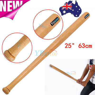 "25""/63cm High Quality Outdoor Sports Wood Baseball Bat Wooden Softball Bat"