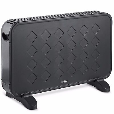VonHaus 2000W Electric Freestanding Portable Convector Heater