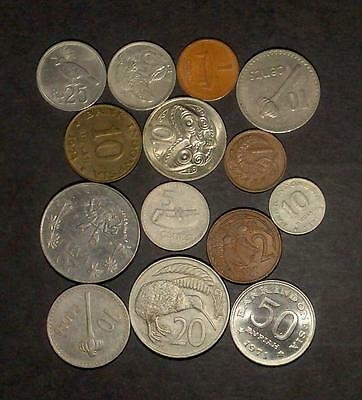 Selection of coins from Island Nations (65g)