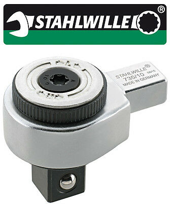 Stahlwille RATCHET INSERT TOOL 9X12 MM WITH QUICK RELEASE 58253004