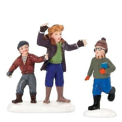 """Dept. 56  """"A Christmas Story""""  Scut Farkus and his Toadies   ( 2006 - retired)"""