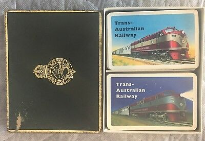 COMMONWEALTH RAILWAYS - TRANS AUST RAILWAYS Playing Cards
