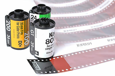 "35mm C41 Colour Film Developing with 6"" x 4"" Prints"