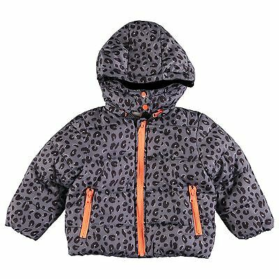 Stella Mccartney Kids Baby Hubert Leopard Padded Jacket 6 Months
