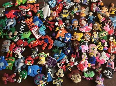 Job Lot 1000 Randomly Picked Mixed girls/boys Shoe Charms