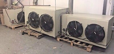 3 X Oil Fired Heater Units