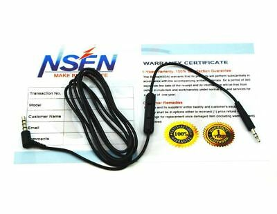 Replacement Audio Cable Wire Cord w/ Mic for Bose On-Ear OE2 OE2i QC25 Headphone