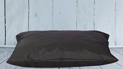 Black Waterproof Dog Beds L & XL Sizes & Removable Waterproof Dog Bed Cover