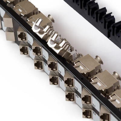Cat6a Patch panel 24Port - Tool-Less IDC termination