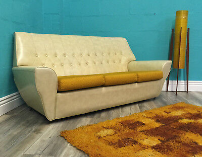 Very Stylish Vintage Retro Mid Century Sofa